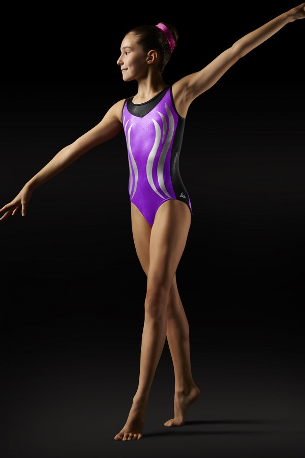 image - Flame Tank Leotard - Girls Girl's Gymnastics Leotards