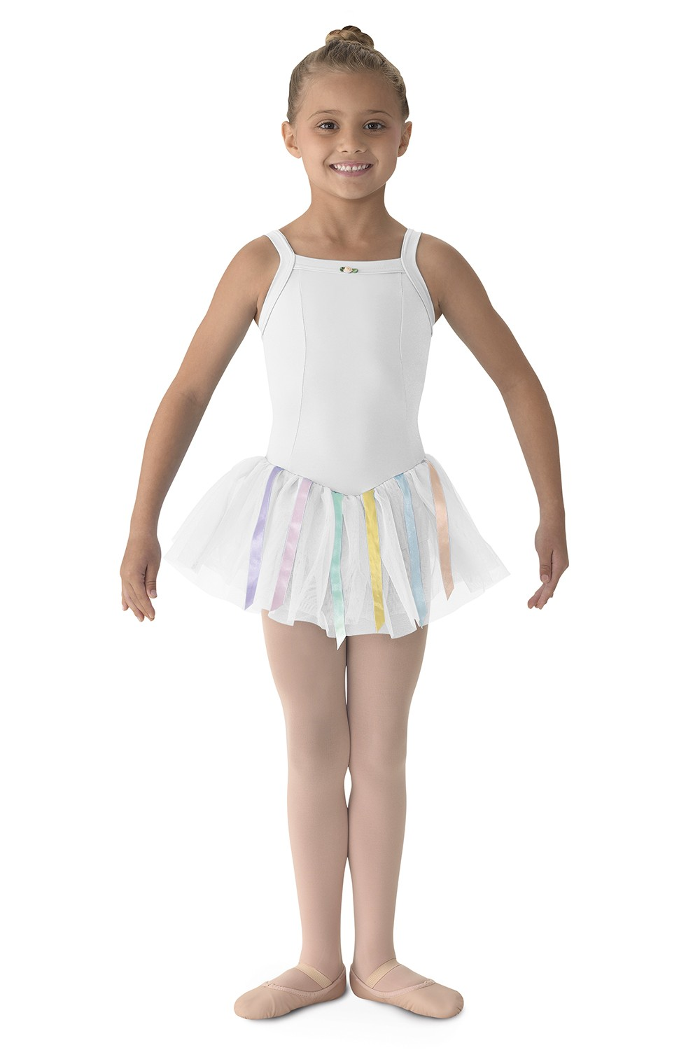 Ribbon Dress Children's Dance Leotards