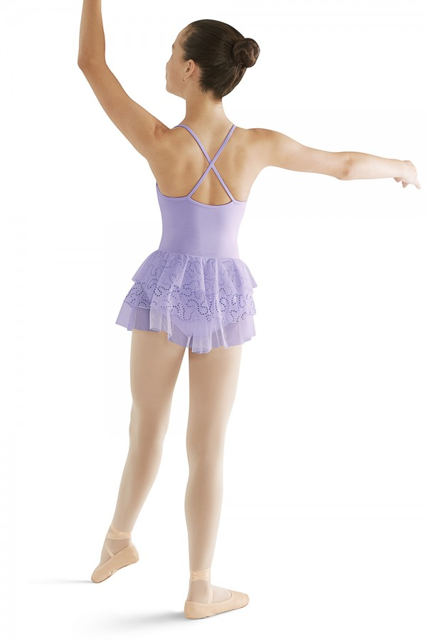 image - Layered Skirt Camisole Children's Dance Leotards
