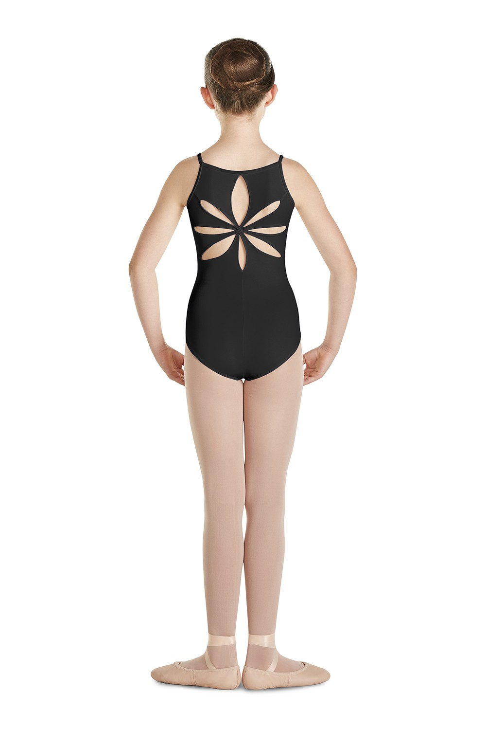 Flower Back Camisole Children's Dance Leotards