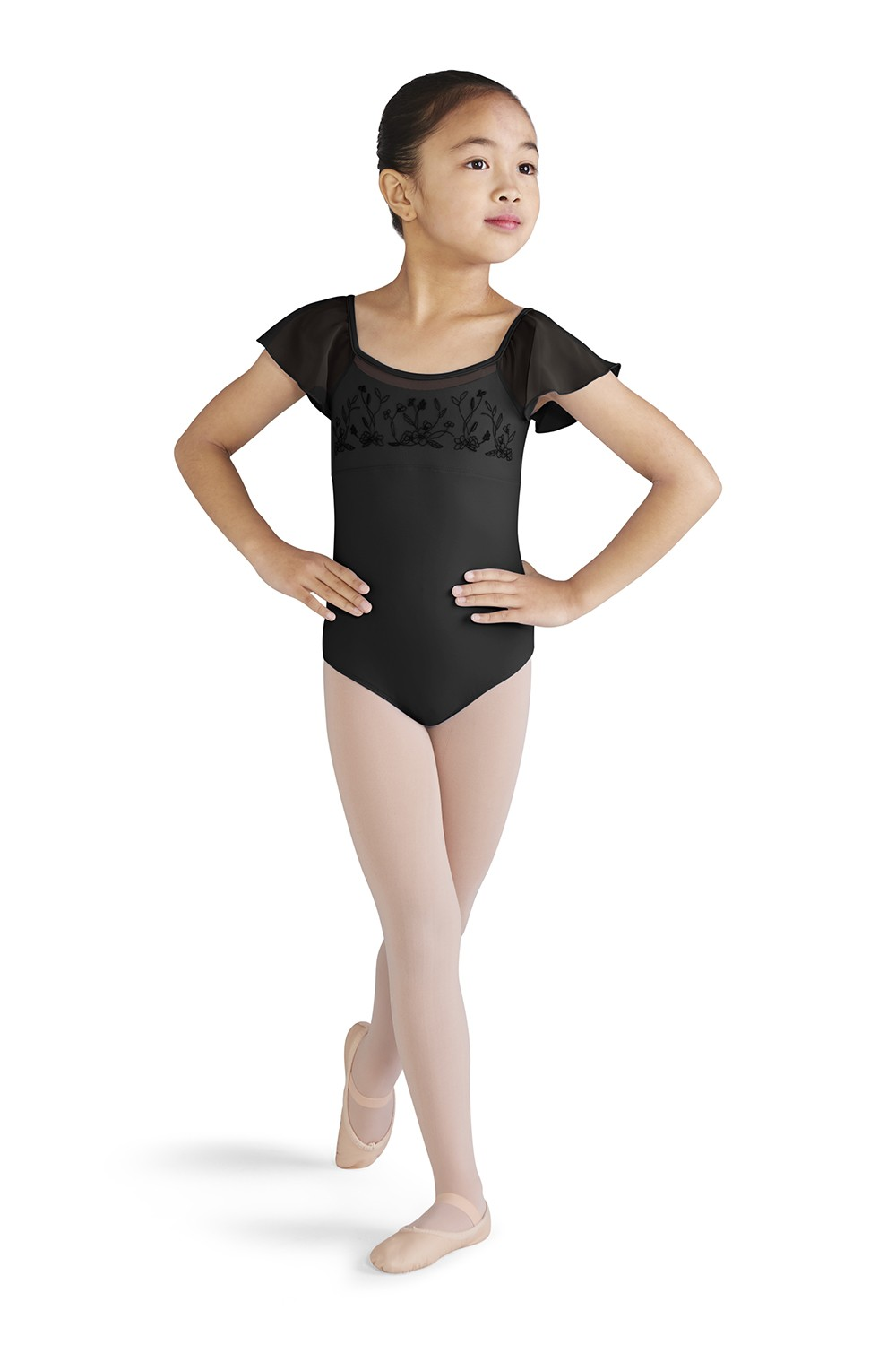 Flutter Sleeve Leotard Children's Dance Leotards