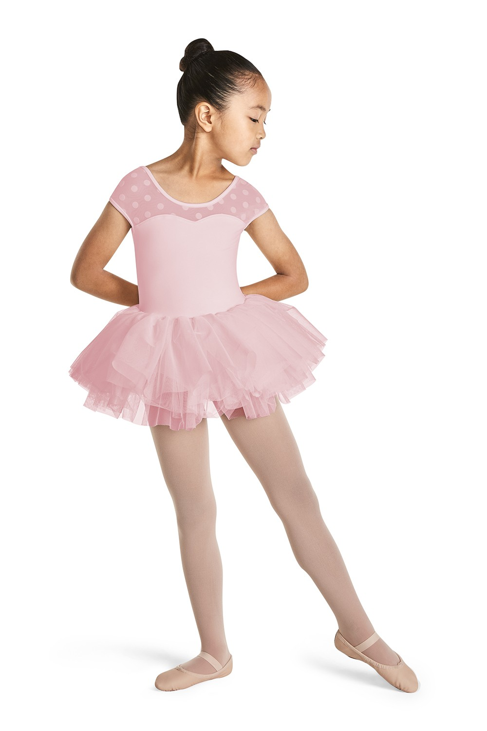 Cap Sleeve Tutu Dress Children's Dance Leotards