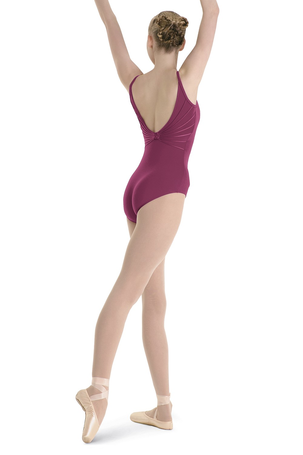 Deep V Knot Back Leo Women's Dance Leotards