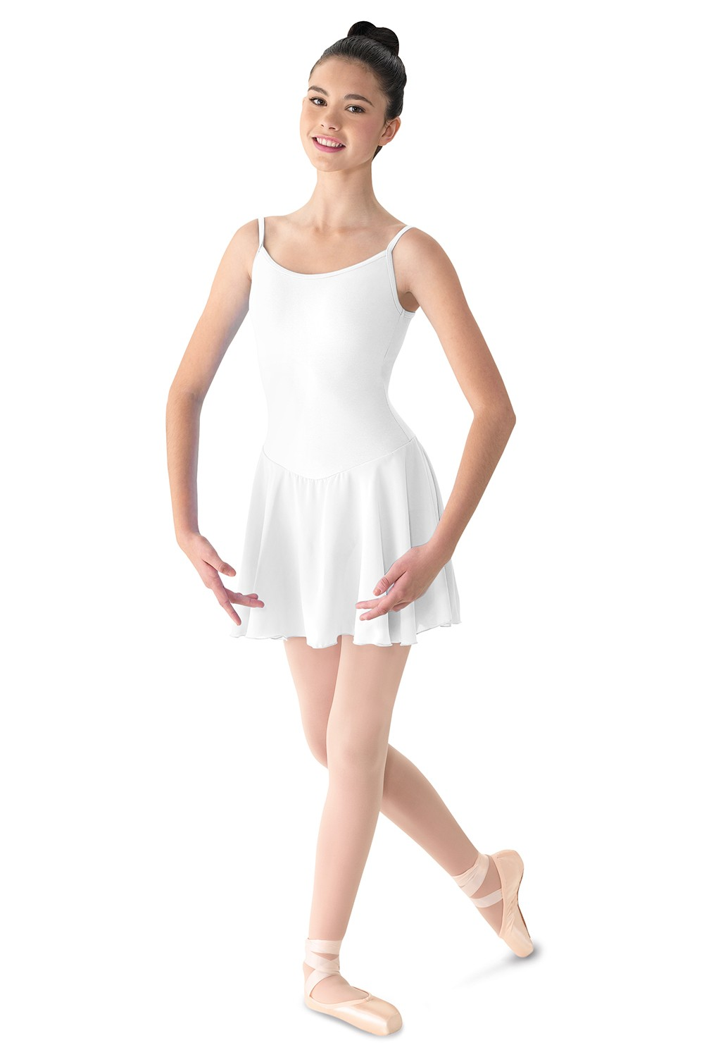 Camisole Dress W/skirt Women's Dance Leotards
