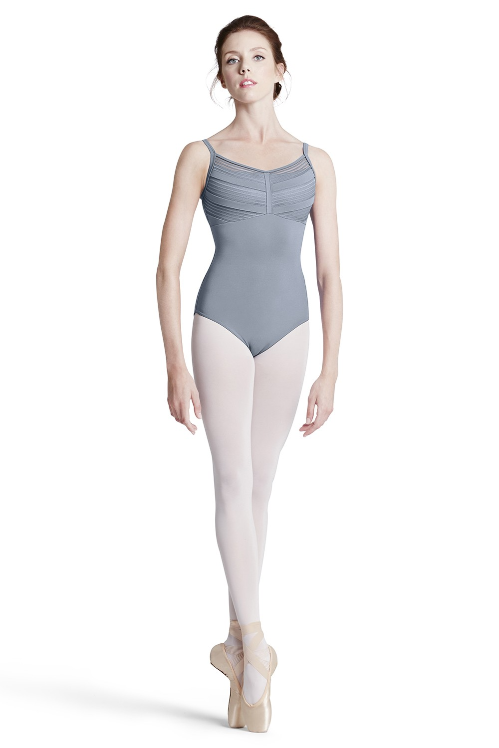 Stripe Lace Cami Leo Women's Dance Leotards