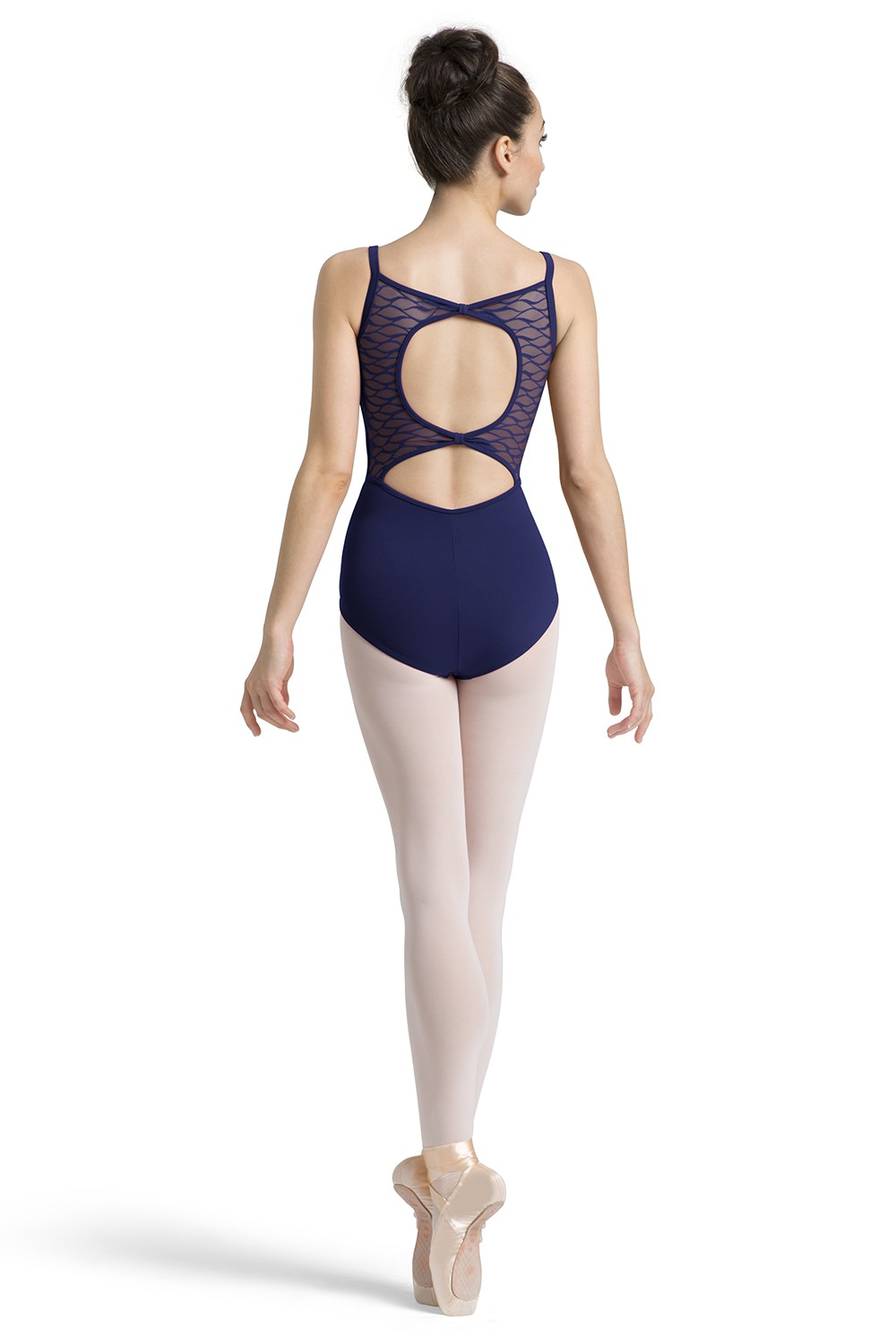 Body Con Spalline Sottili E Design A Fiocco Sul Retro Womens Camisole Leotards