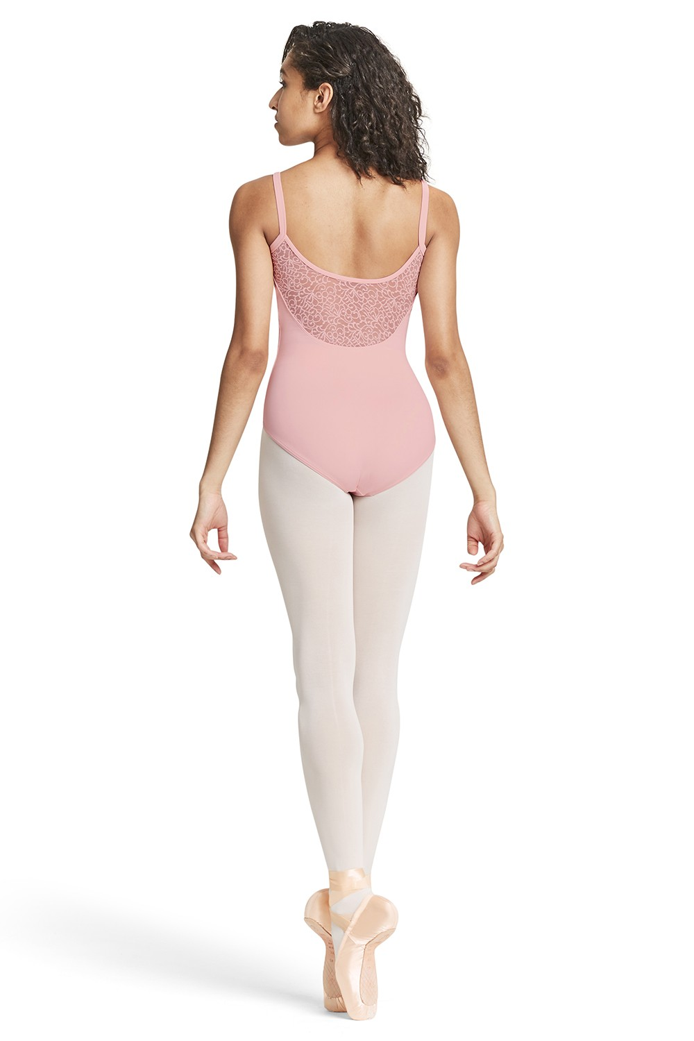 Mesh Scoop Back Camisole Leotard Women's Dance Leotards