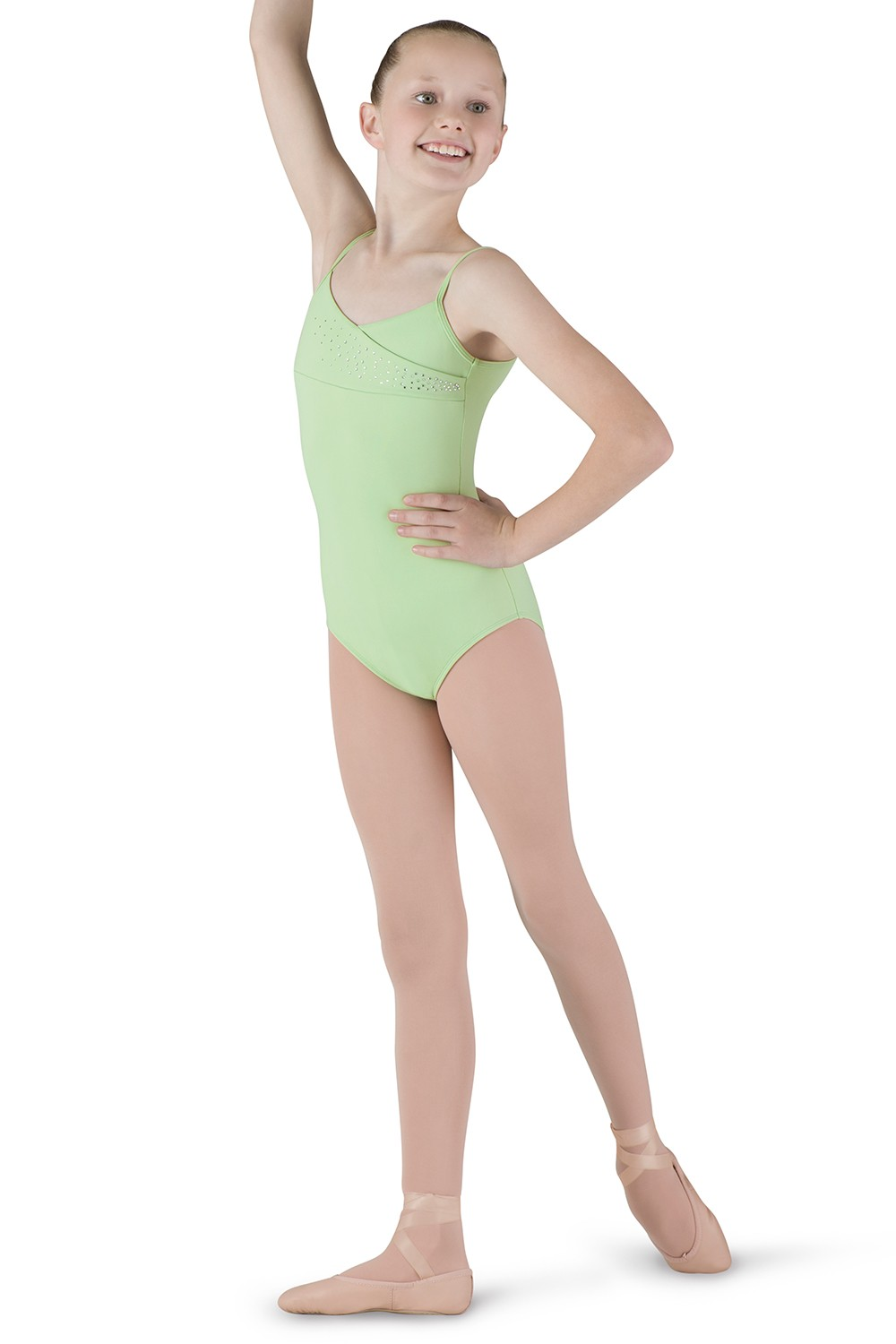 Mock Wrap Frt Cami Children's Dance Leotards