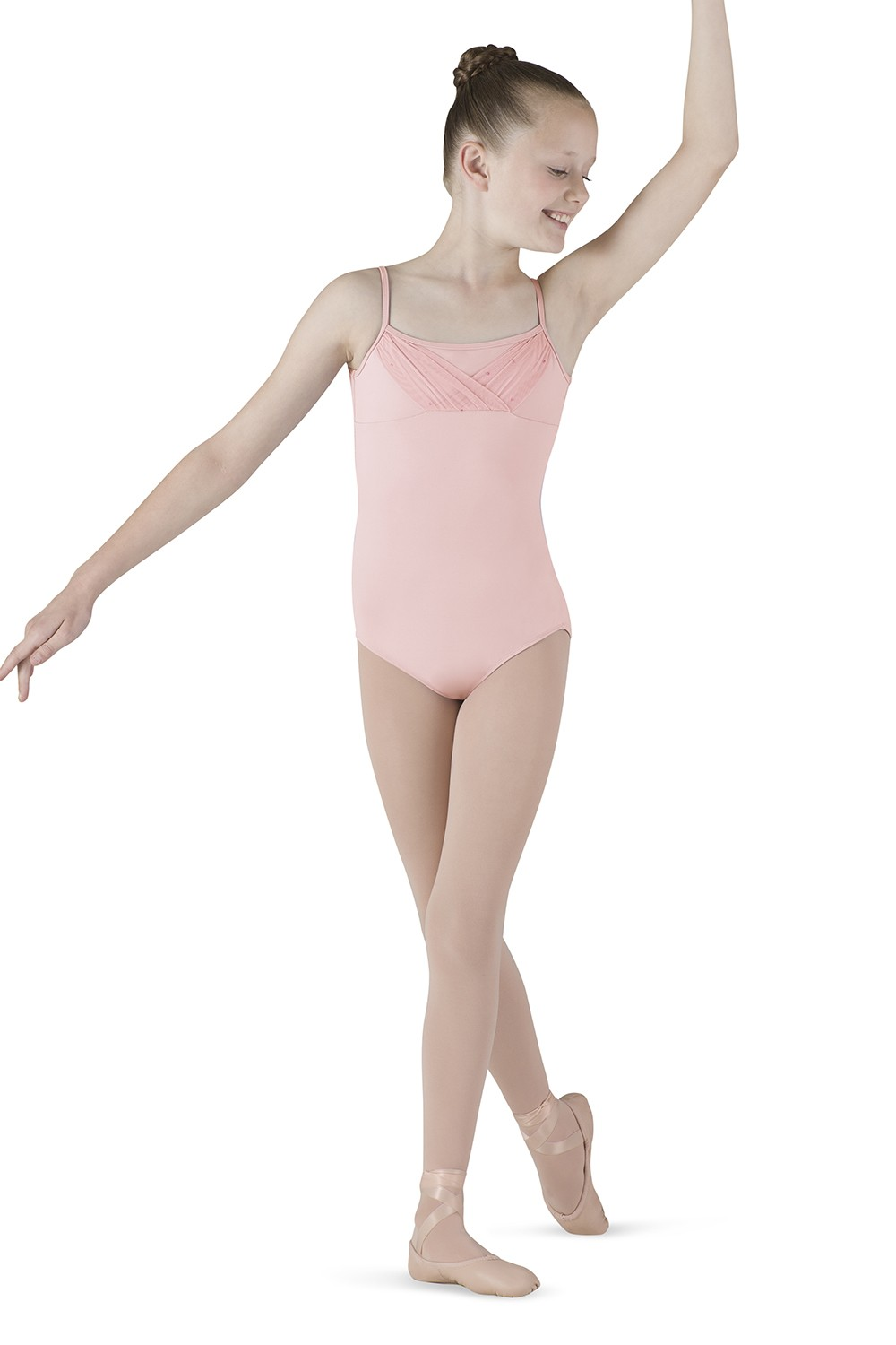 Peekaboo Back Camisole Children's Dance Leotards