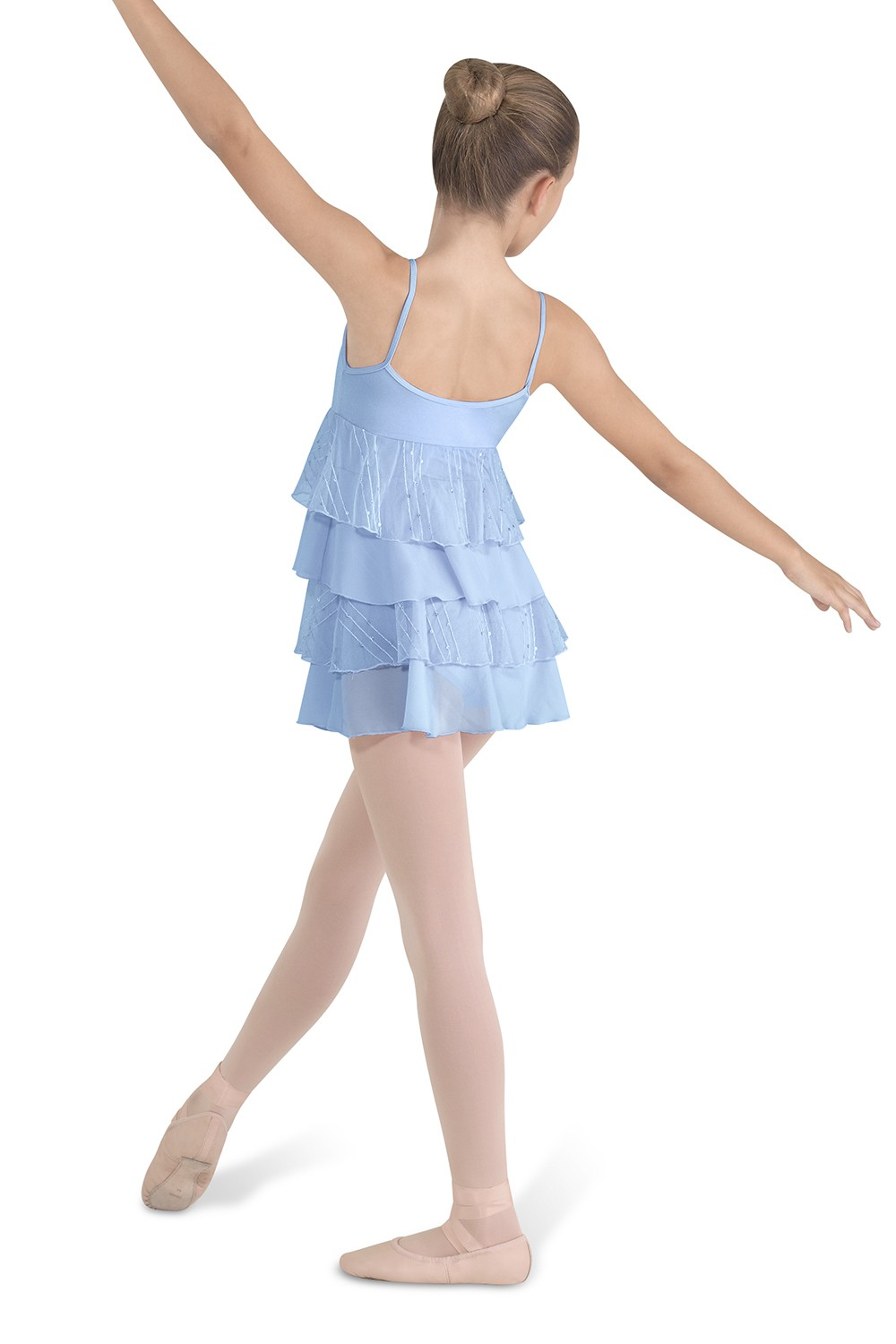 Four Tier Camisole Dress Children's Dance Leotards