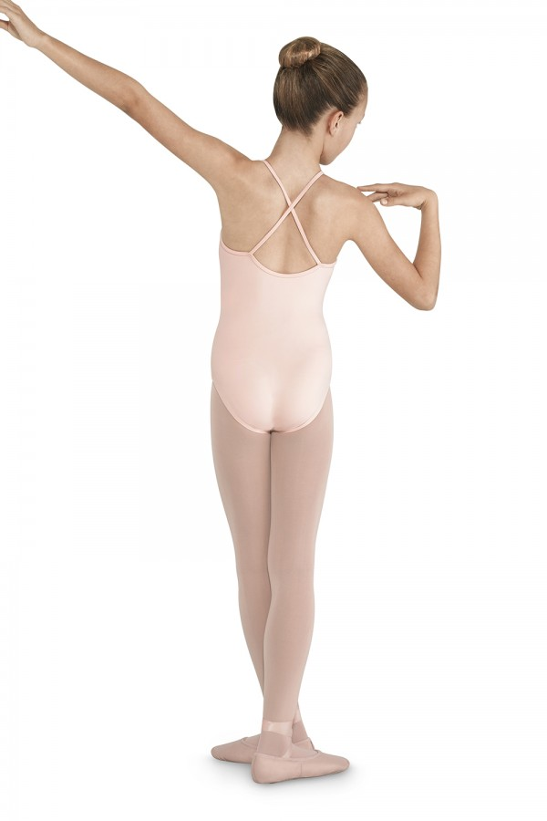 image - Cross Back Camisole Leotard Children's Dance Leotards