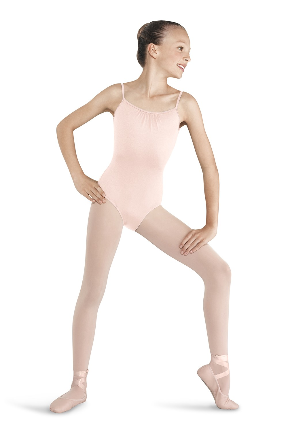 Gather Back Camisole Leotard Children's Dance Leotards