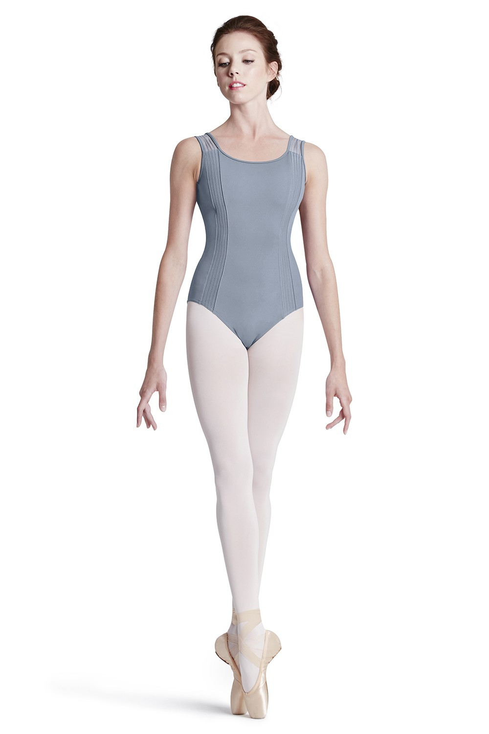 Lace Trim Side Leo Women's Dance Leotards