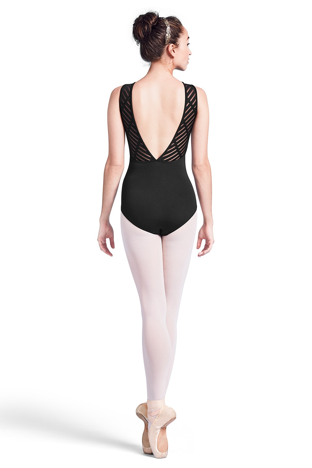 Deep Vee Back Tank Leotard Womens Tank Leotards