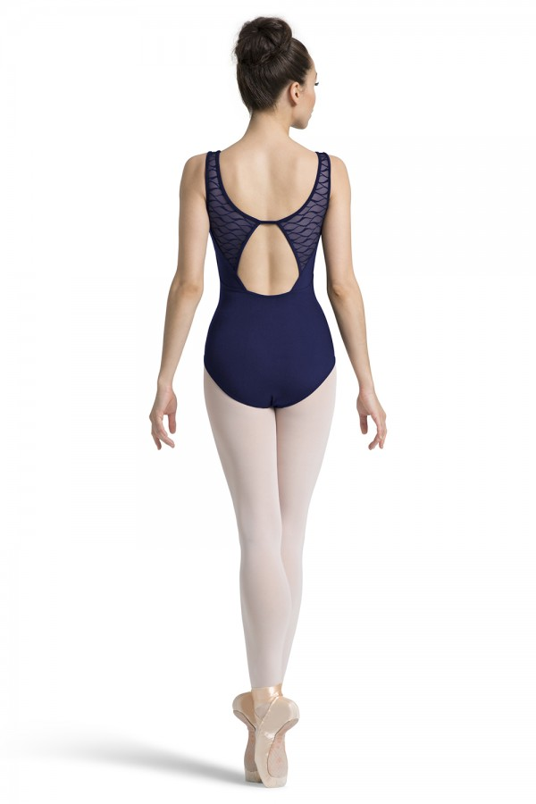 image - Open Back Tank Leotard Women's Dance Leotards