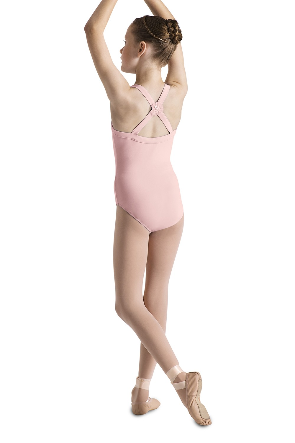 Cross Back Tank Leotard Children's Dance Leotards