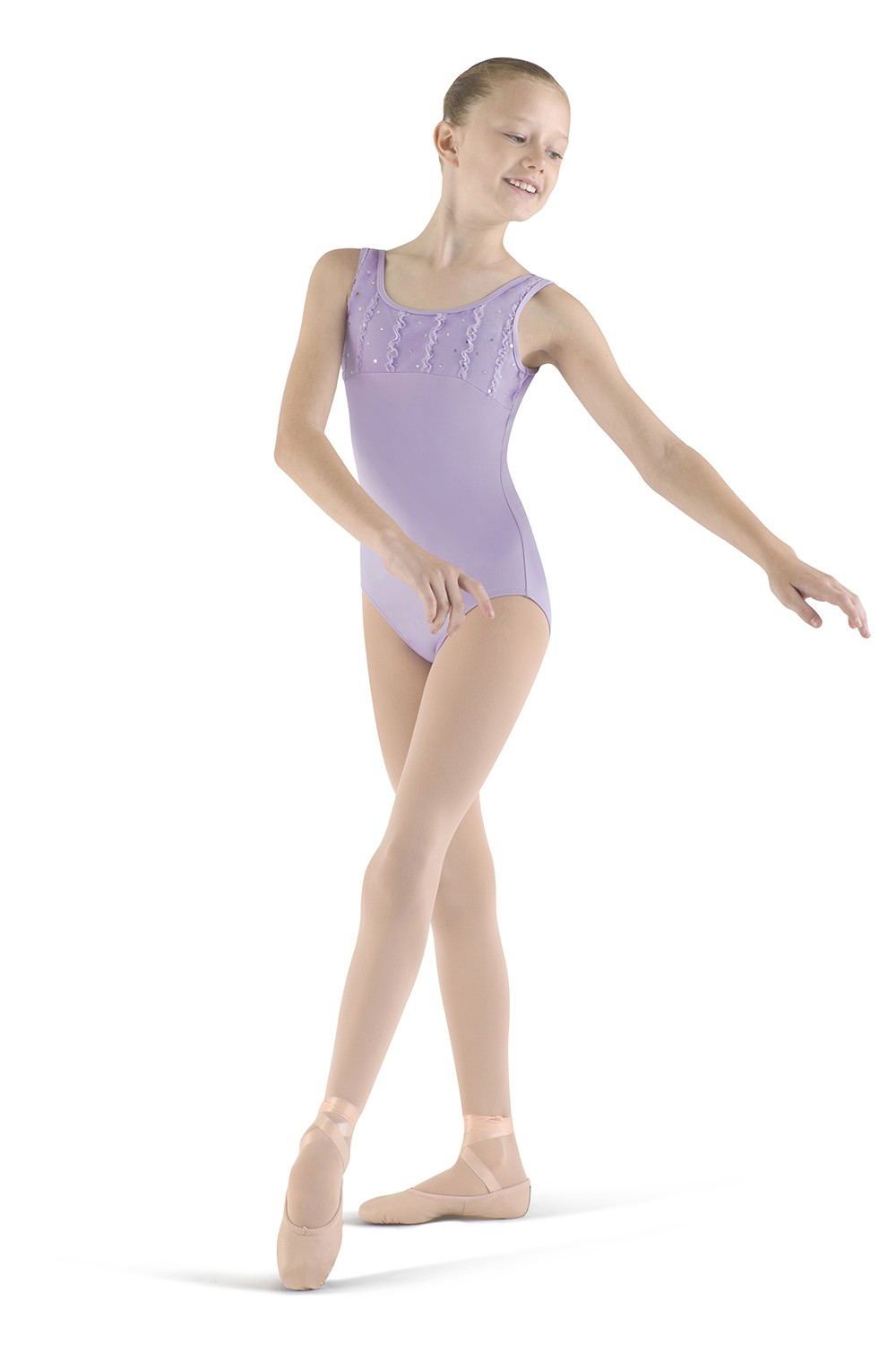 Frill Front Tank Leotard Children's Dance Leotards