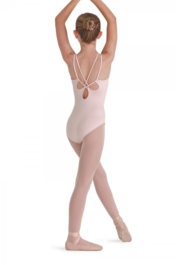 image - Rouleaux Back Tank Leotard Children's Dance Leotards