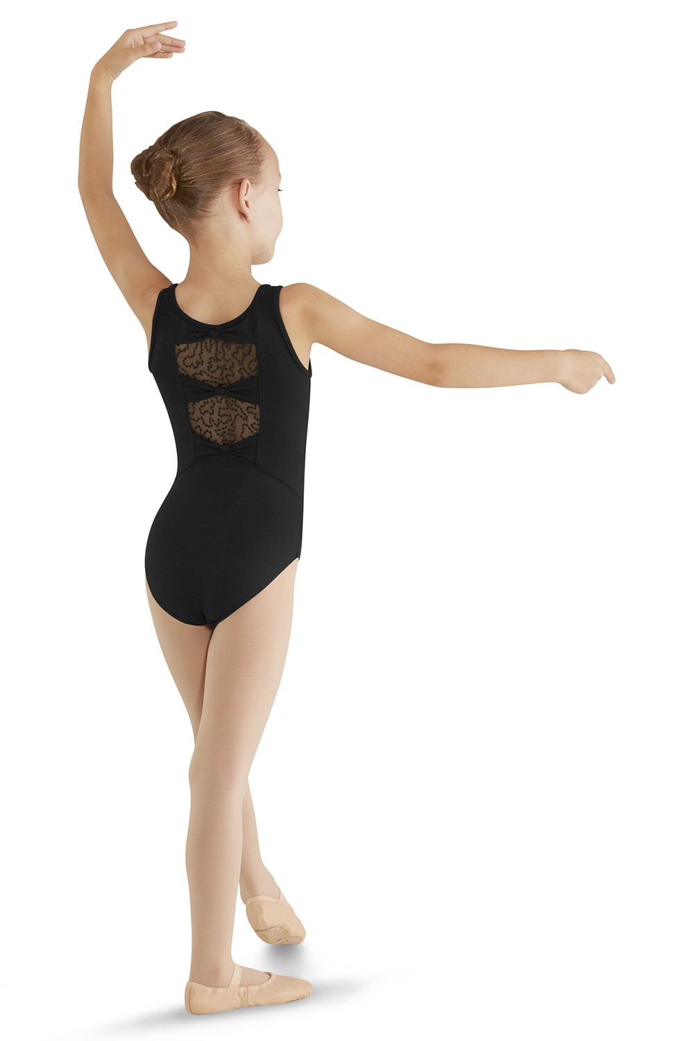 Three Bow Back Tank Leotard Children's Dance Leotards
