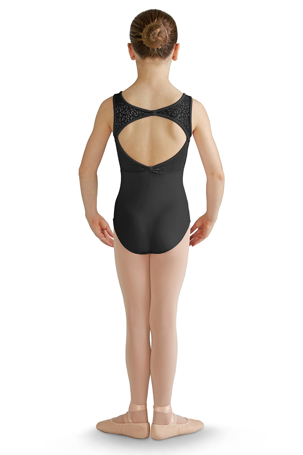 Open Bow Back Tank Leotard Children's Dance Leotards