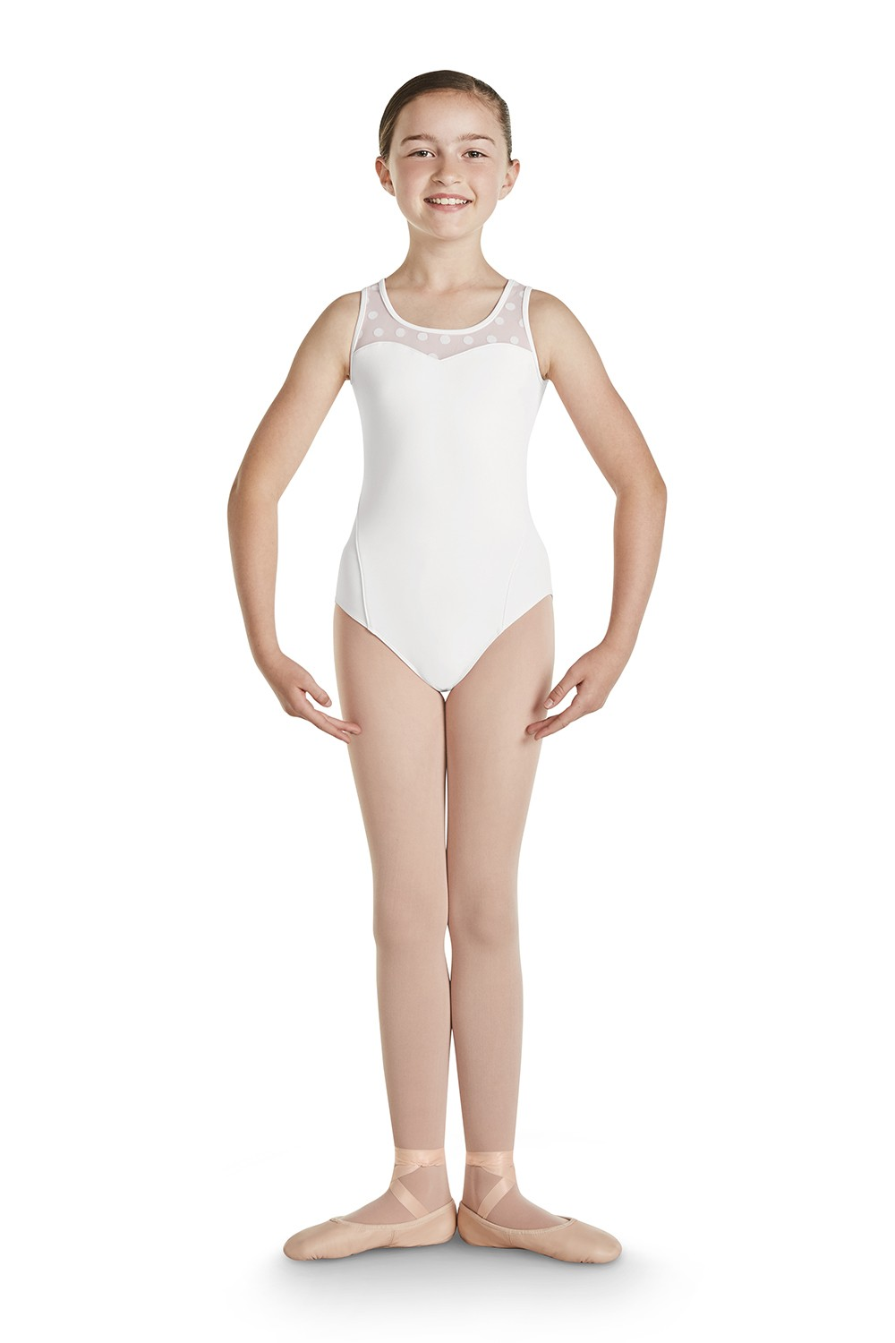 Keyhole Back Tank Leotard Children's Dance Leotards