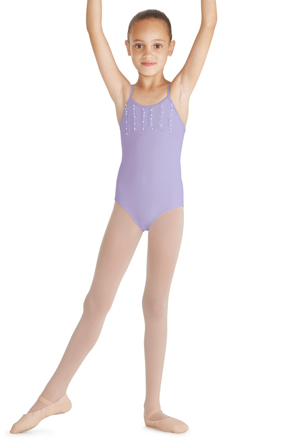 Frill Trim Camisole Leotard Children's Dance Leotards