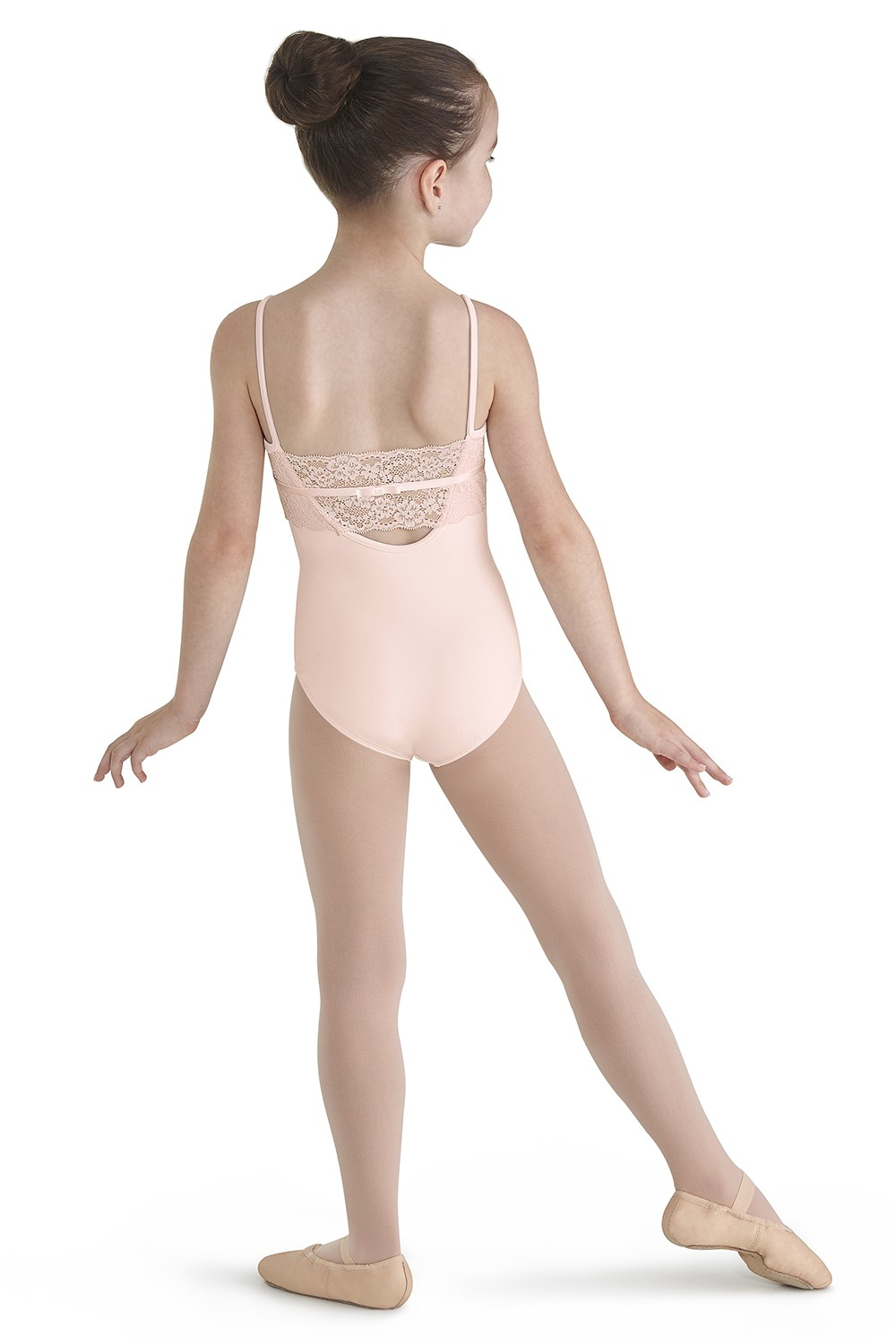 Lace Back Camisole Leotard Children's Dance Leotards