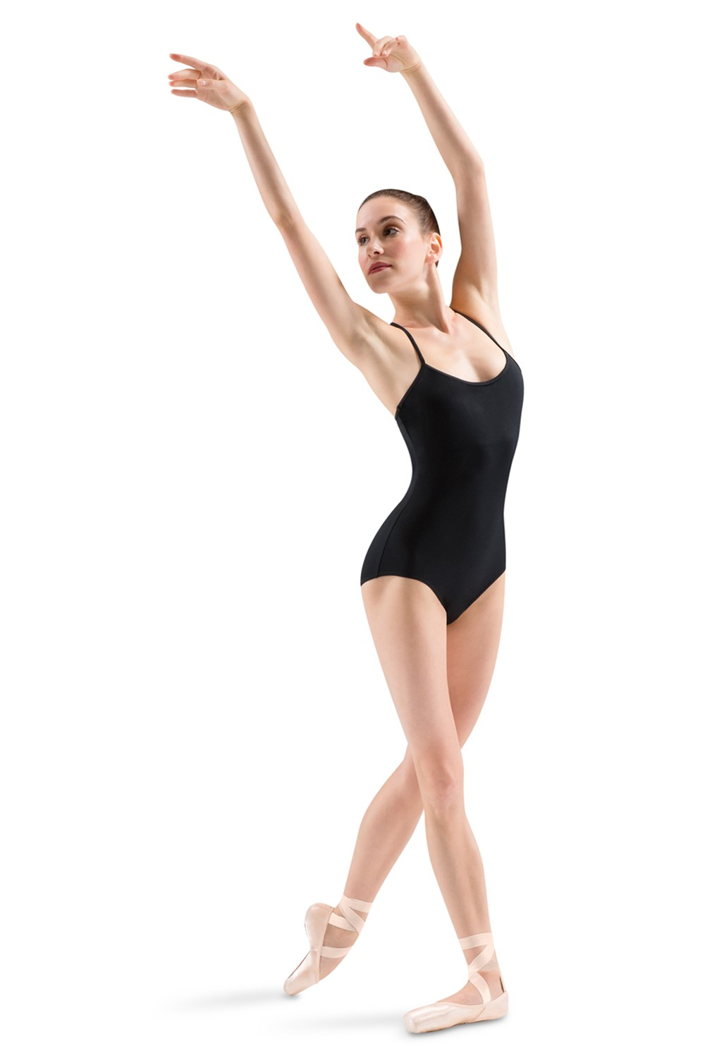Mirella Rouleaux Knot Beaded Diamond Back Camisole Women's Dance Leotards