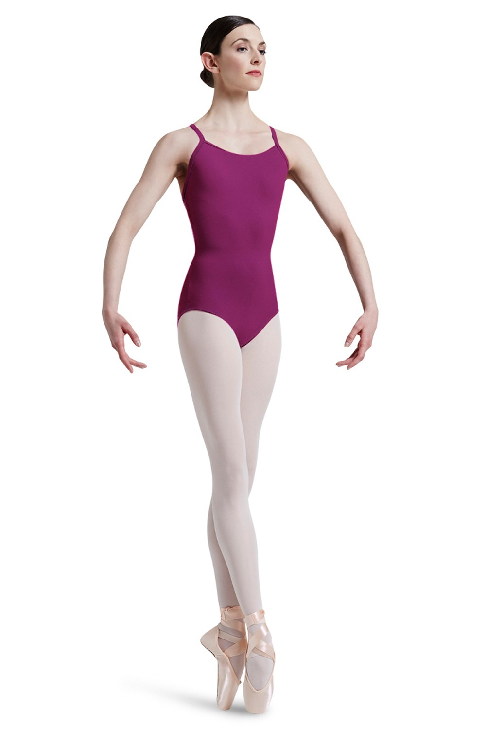 Mirella Square French Lace Racer Back Leotard Women's Dance Leotards