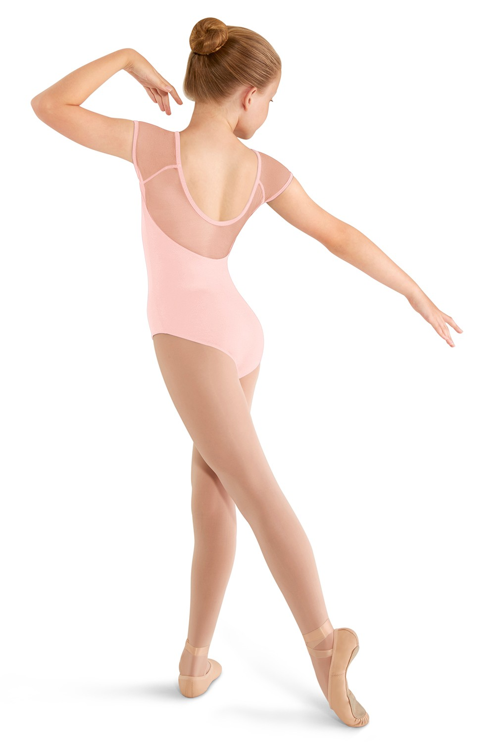 Soft Mesh Cap Sleeve Leo Children's Dance Leotards