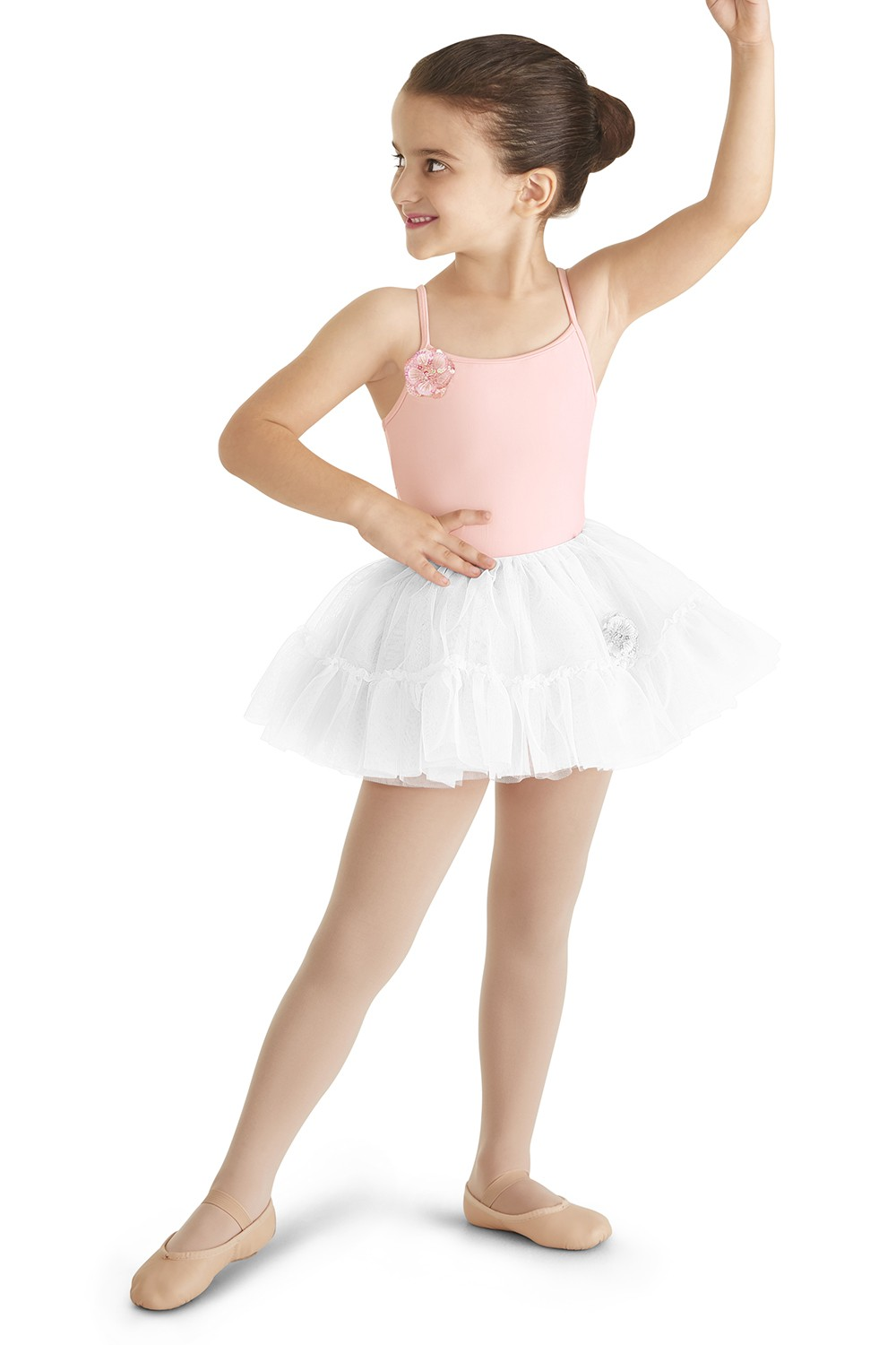 Ruffle Hem Tutu Skirt Children's Dance Skirts