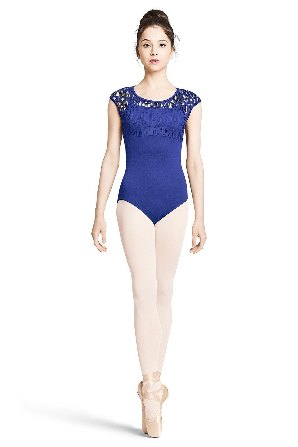 Body Con Maniche Ad Aletta E Spalline Incrociate Sul Retro Women's Dance Leotards