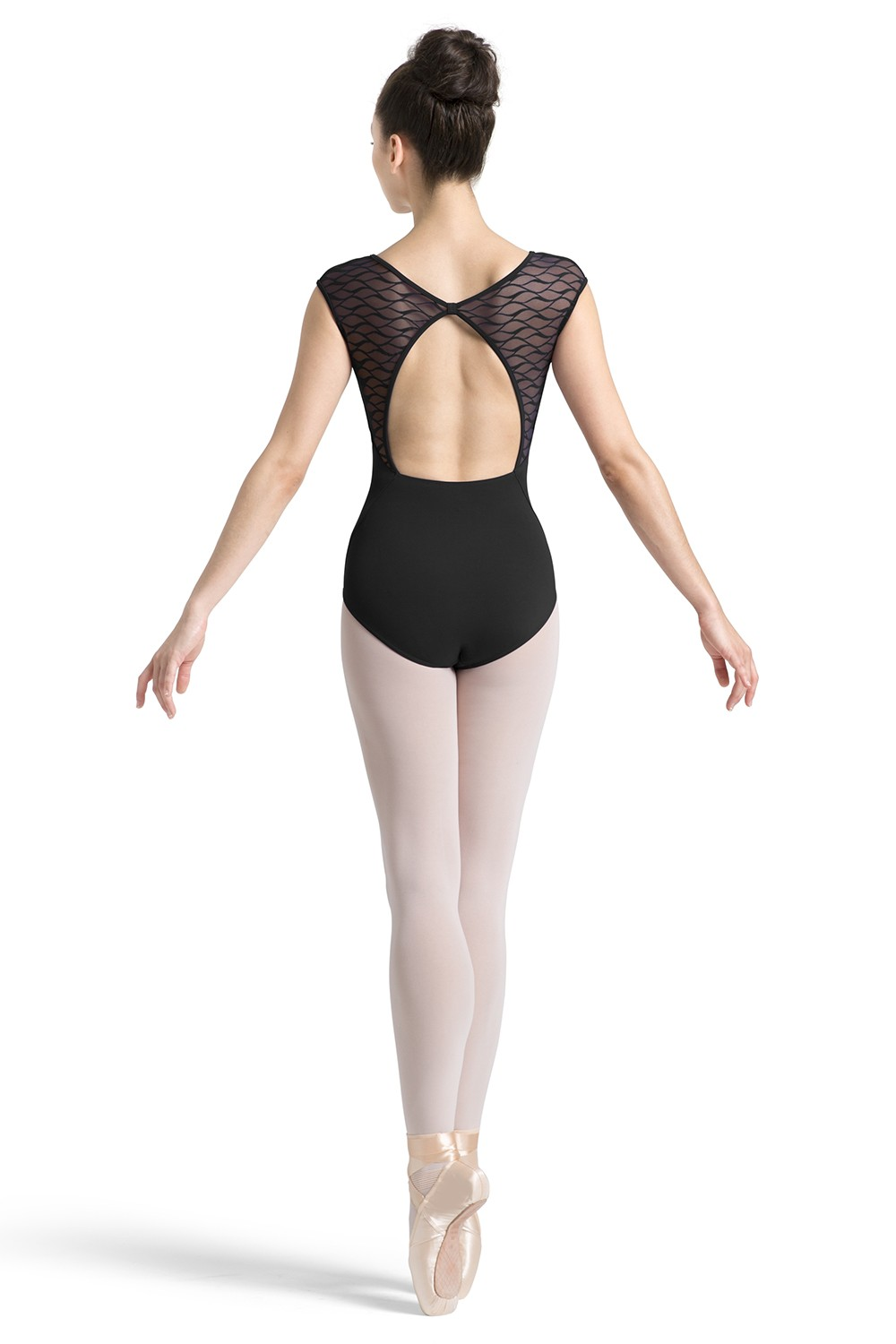 Bow Back Cap Sleeve Leotard Women's Dance Leotards