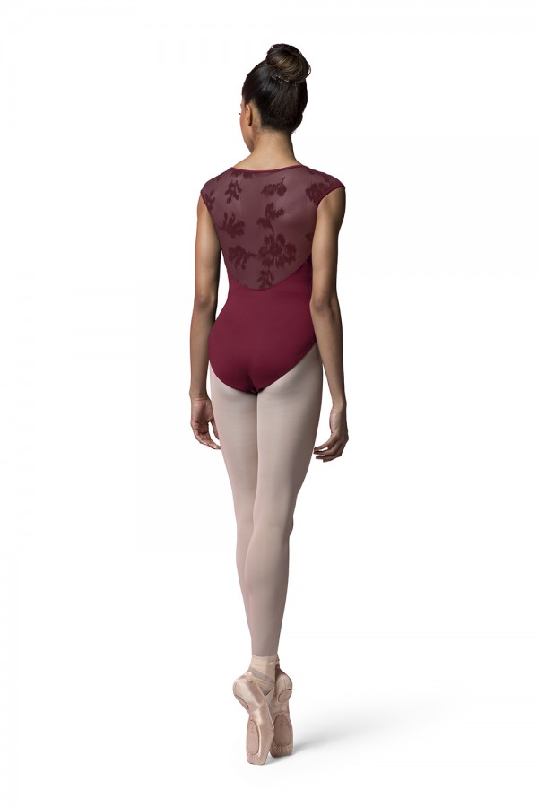 image - Sweetheart Cap Sleeve Leotard Women's Dance Leotards