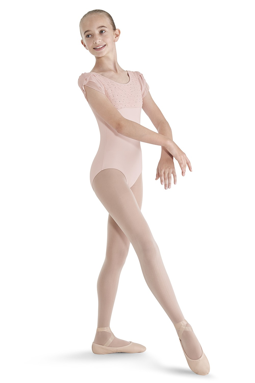 Petal Sleeve Leotard Children's Dance Leotards