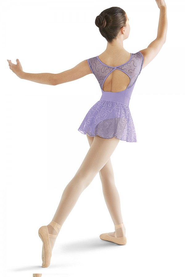 image - Bow Back Cap Sleeve Leotard Children's Dance Leotards