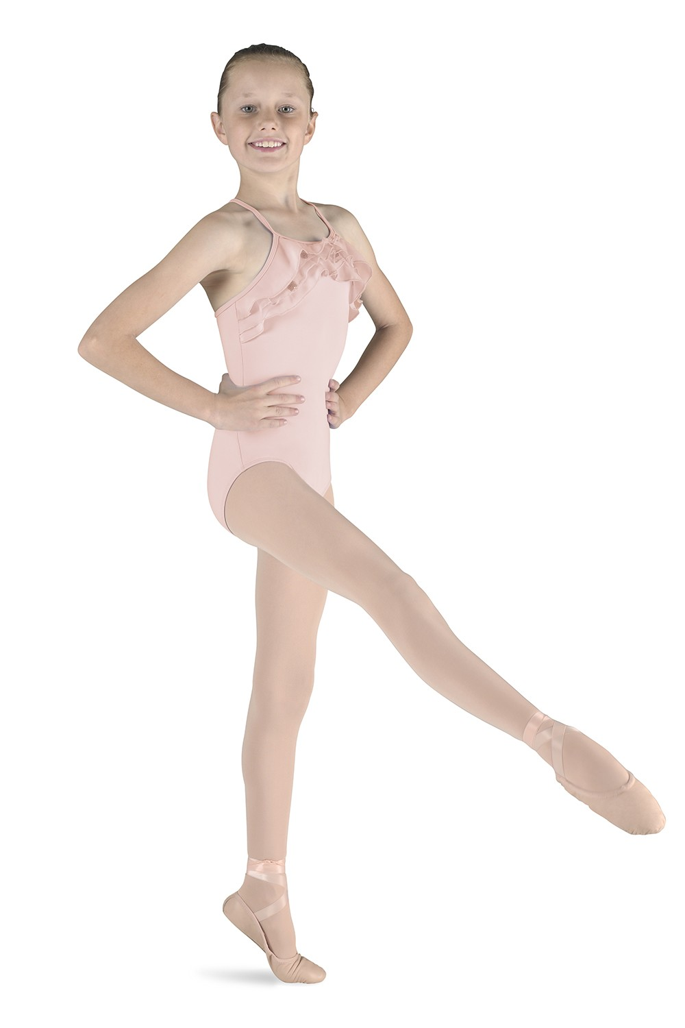 Frill Front Leotard Children's Dance Leotards