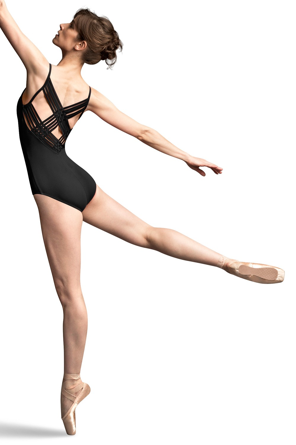 Jfm Basket Weave Twin Back Camisole Leotard Women's Dance Leotards