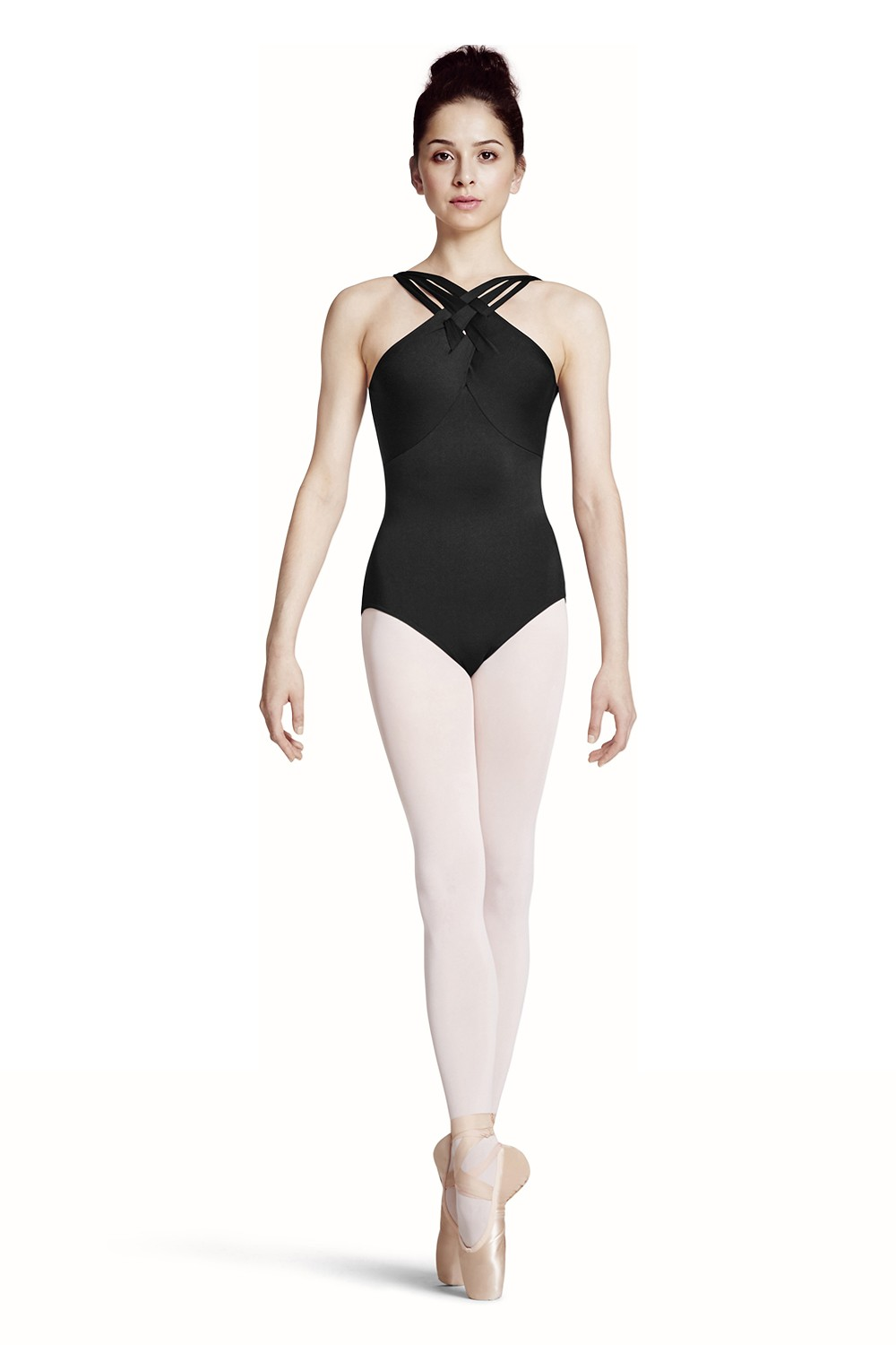 Weave Detail W/ Plaited Strap Leo Women's Dance Leotards