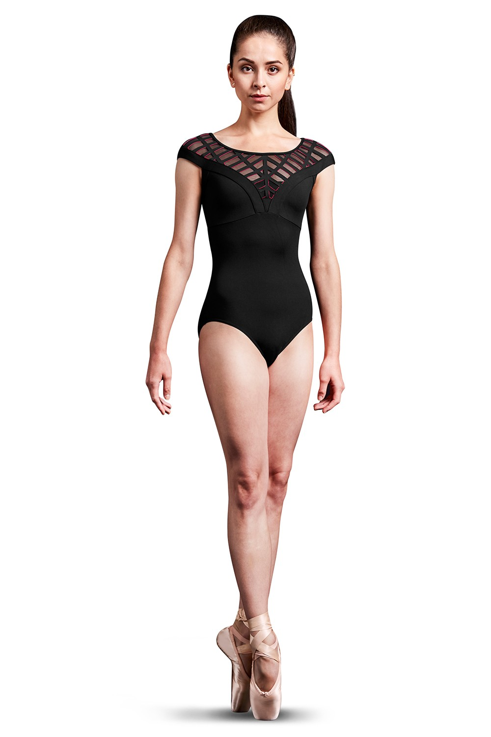 Zip Back Cap Sleeve Leotard Women's Dance Leotards