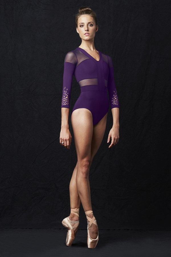 image -  Womens Long Sleeve Leotards