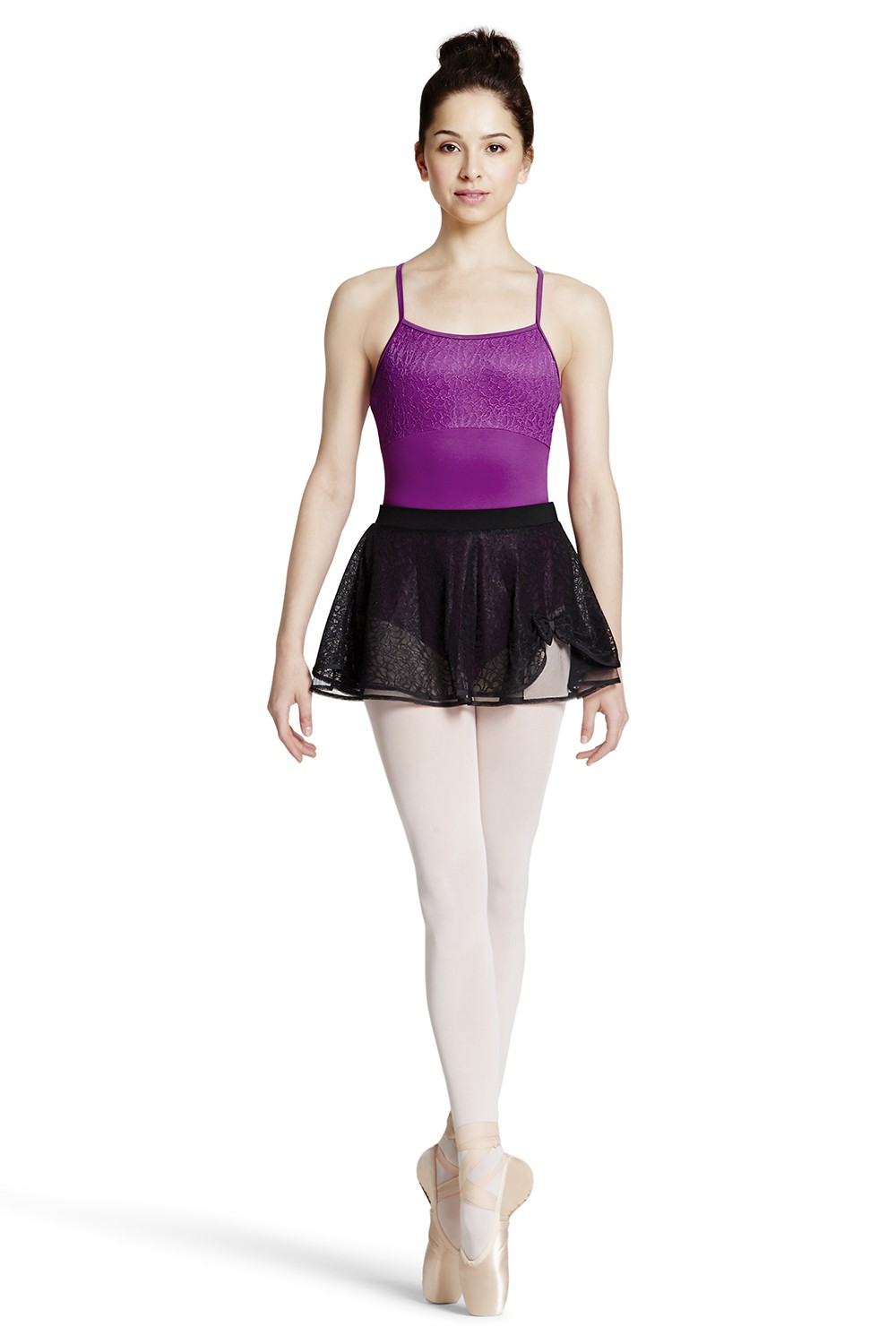 Spitzenrock Mit Blumendruck Women's Dance Skirts
