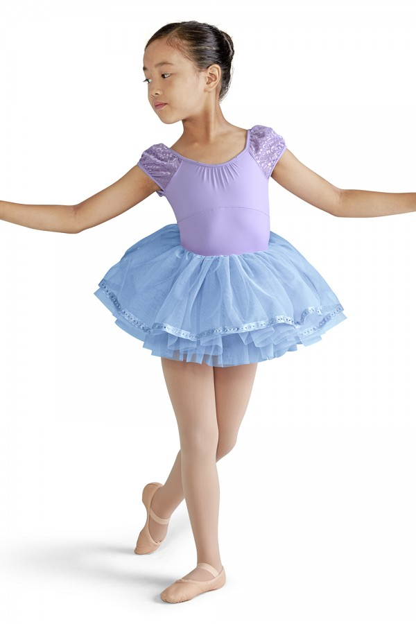 image - Ribbon Hem Tutu Skirt Children's Dance Skirts