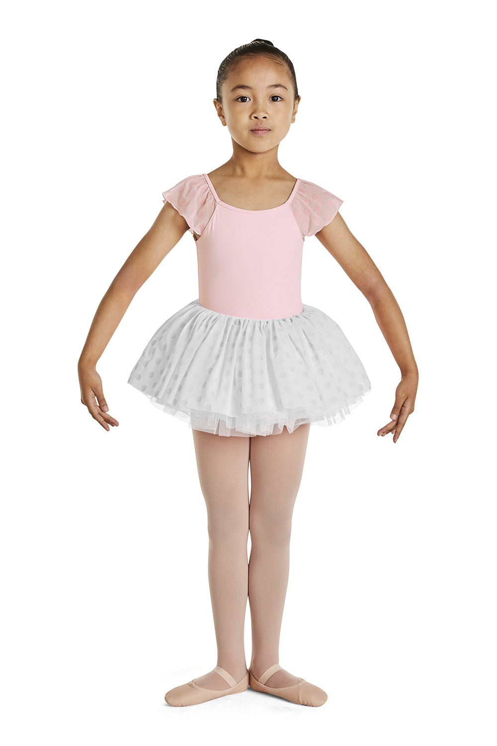 Flocked Tutu Skirt Children's Dance Skirts
