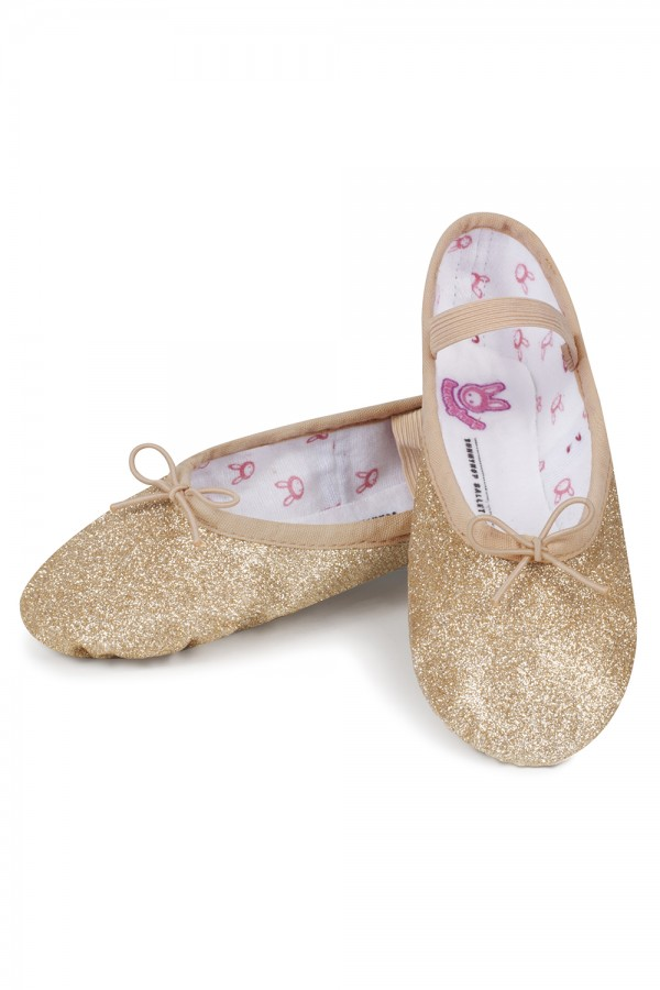 image - Glitterdust - Toddler Girl's Ballet Shoes
