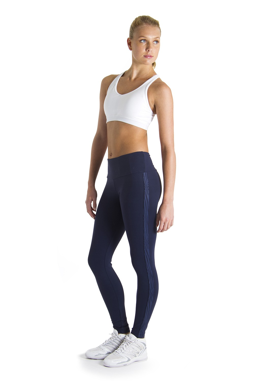Zebra Side Panel Legging Women's Bottoms