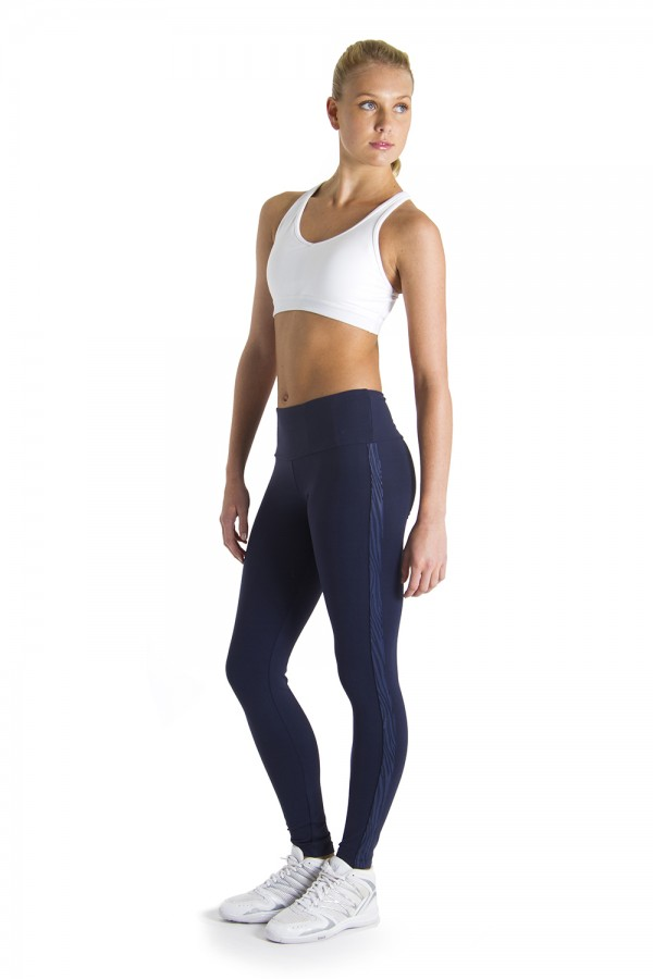 image - Zebra Side Panel Legging Women's Bottoms