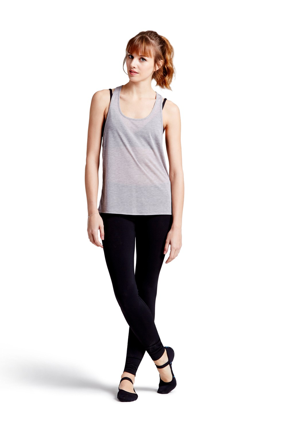 Action Back Loose Top Women's Tops