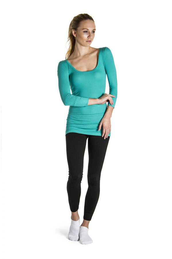 image - Three Quarter Sleeve Top Women's Tops