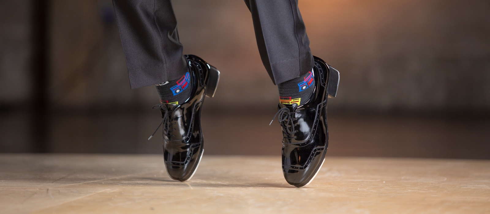 Image - NEW Jason Samuels Smith Black Patent Tap Shoes